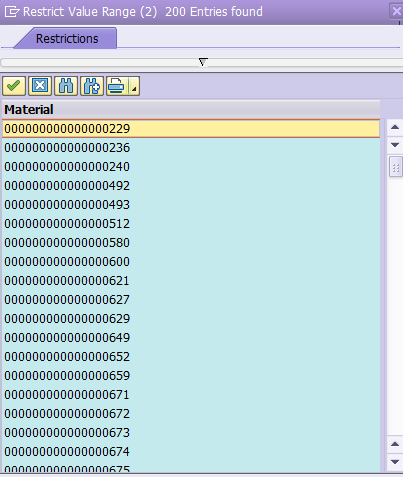 Copy All Records From One Column in ALV Layout