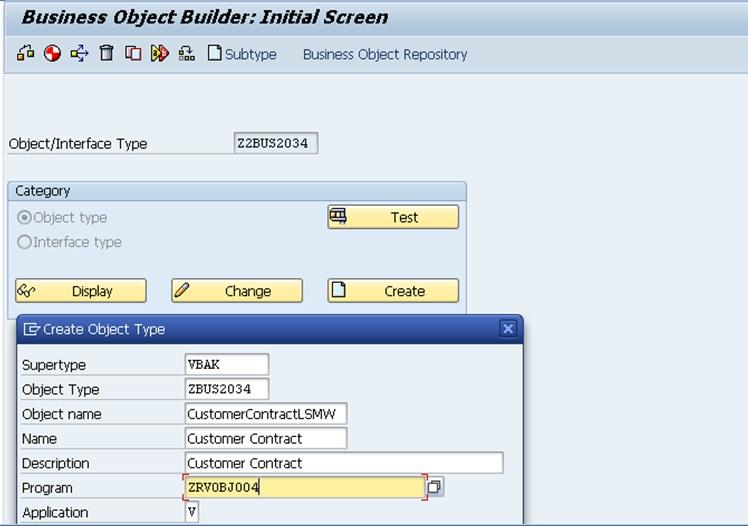 SAP Help: Create a Custom Business Object