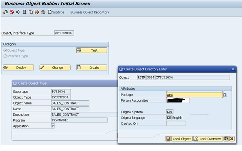 SAP Tips: Create a Custom Business Object