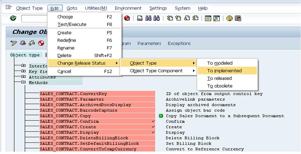 SAP Screenshots