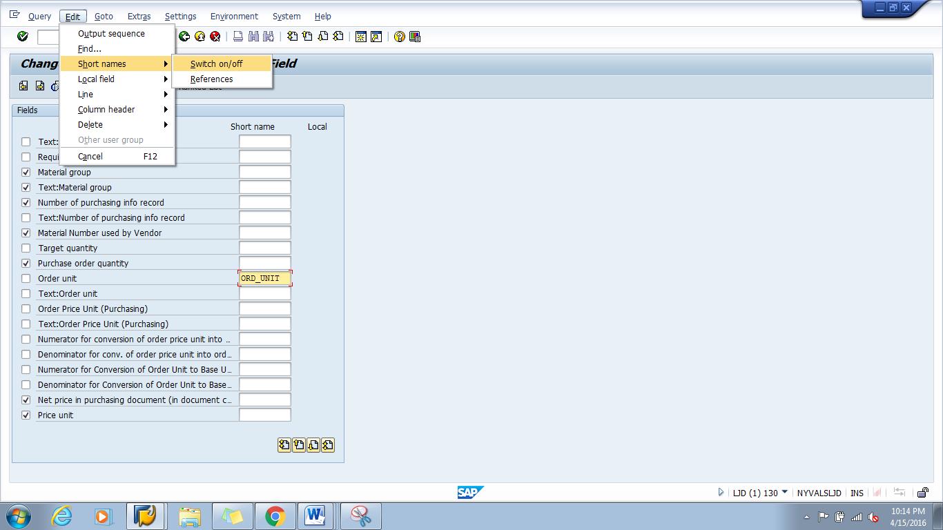 SAP Queries Tip