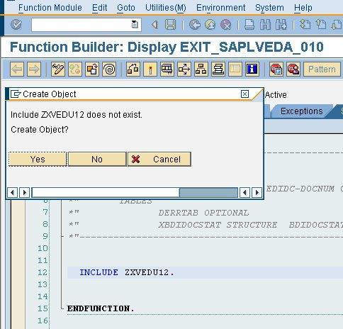 SAP Customer Exit Tips