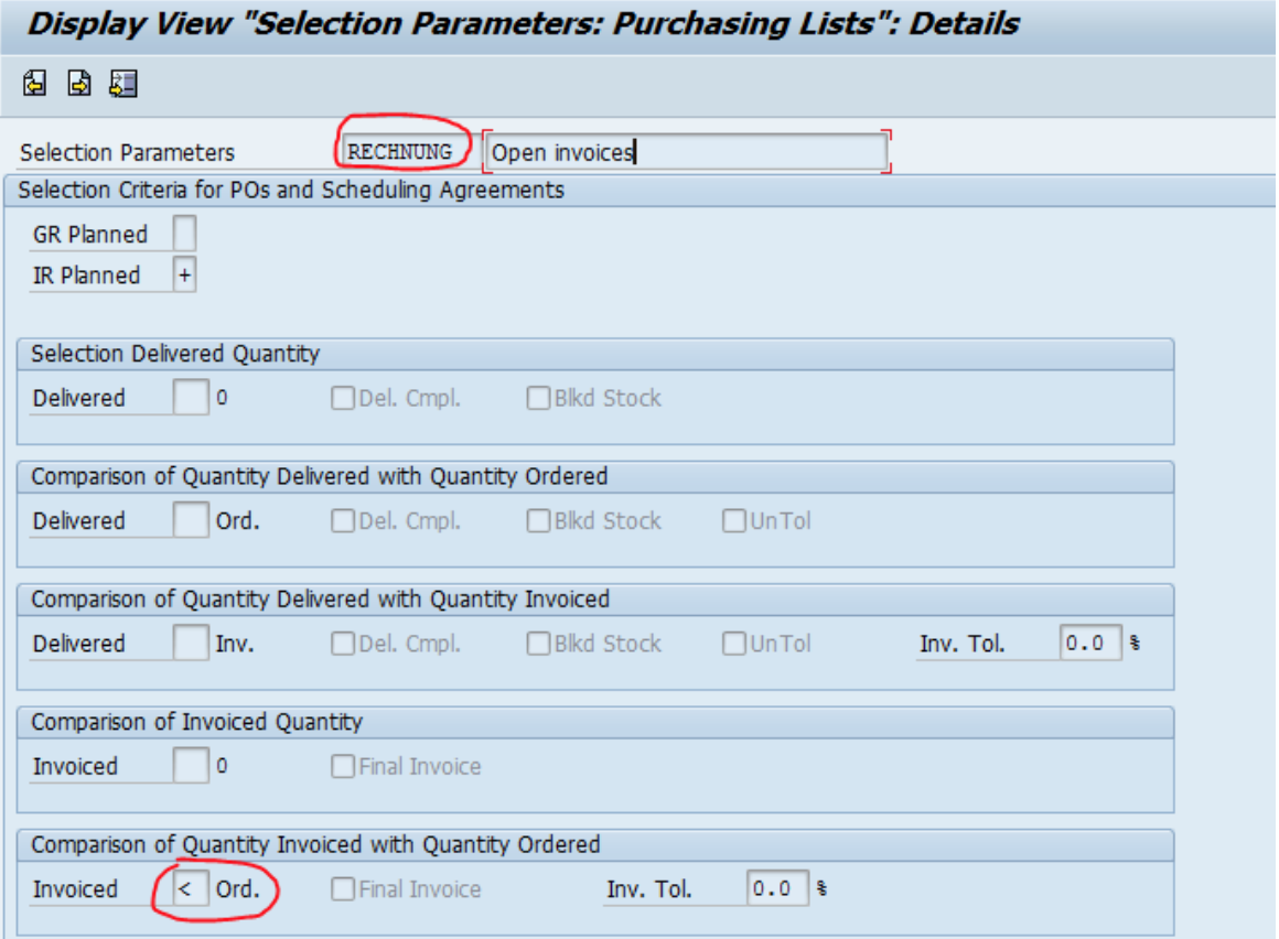 SAP Parameters Tips
