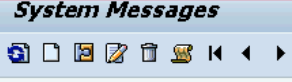 SAP Message Alerts