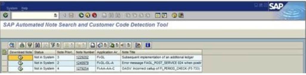 SAP Search Tool Tips