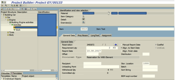 SAP PS Functionality and Integration
