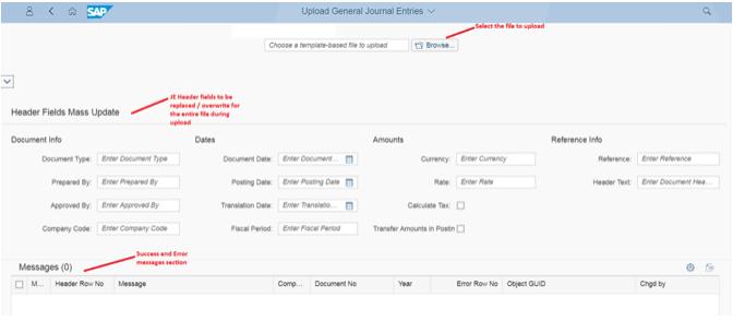 JE Fiori App Layout