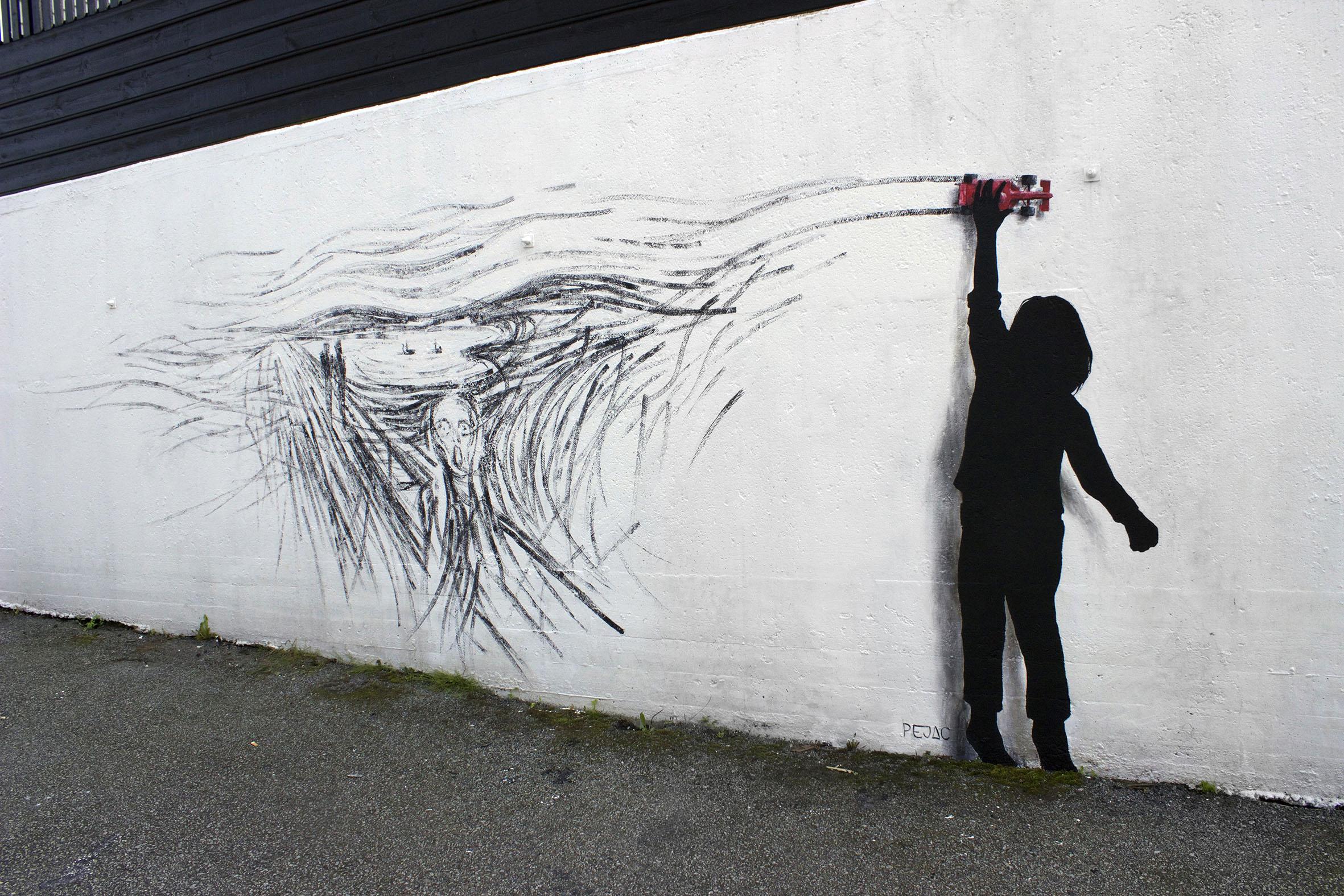 Drift (Tribute to Edvard Munch)
