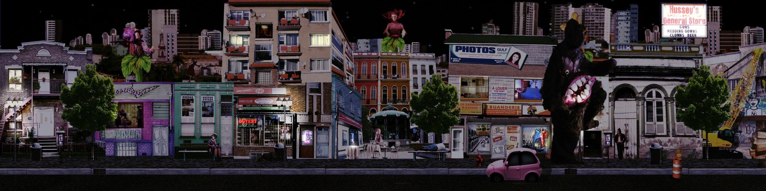 Urban Terrarium (night)