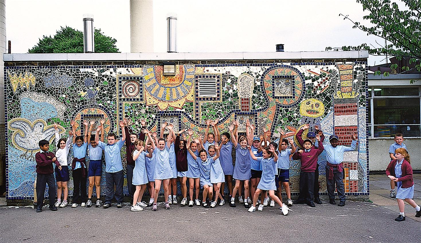 Mosaic Artist for Schools