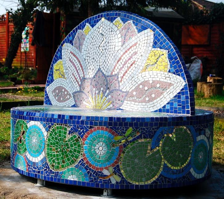 Mosaic Sculpture For Schools