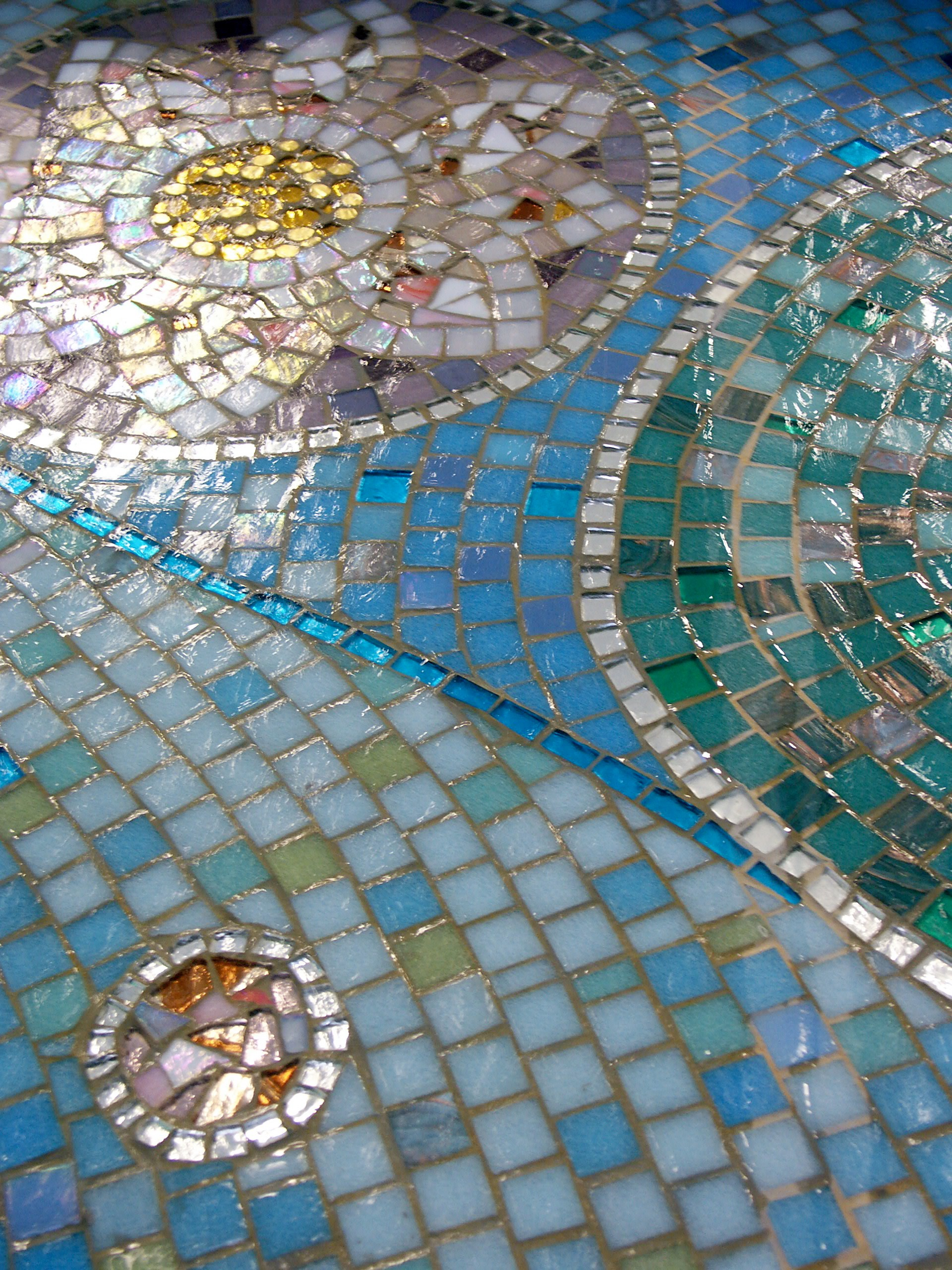 Mosaic waterfeatures.