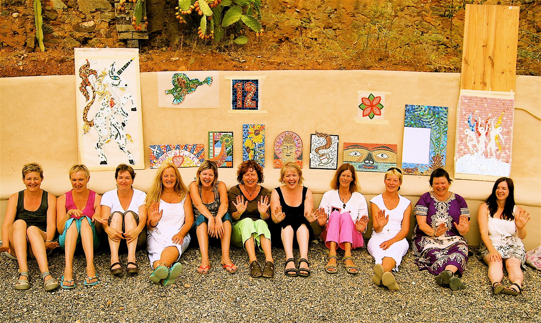 Valle de Vida, Mosaic and Yoga 2010