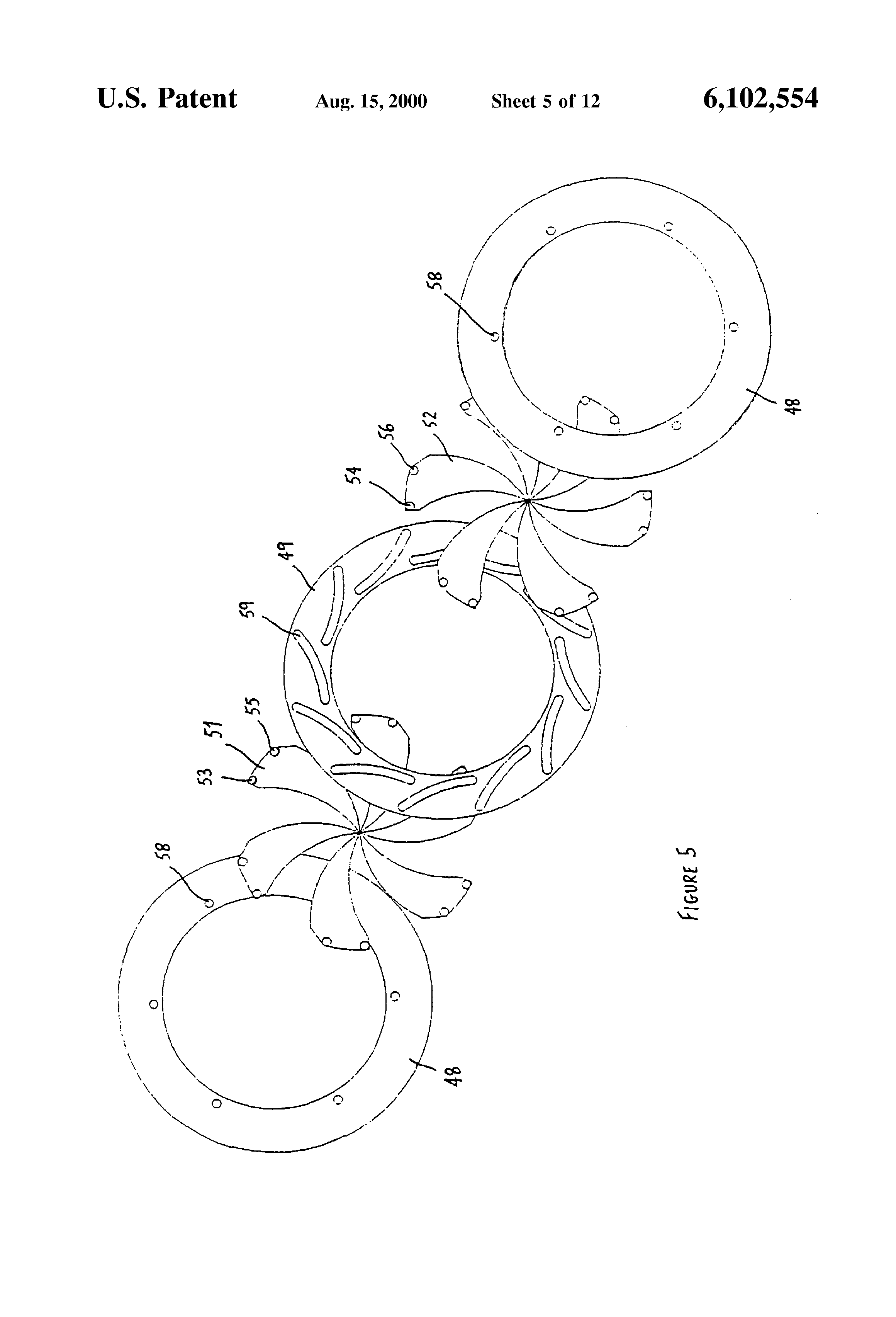 2000 Apparatus for modifying a light beam_US6102554-5.png