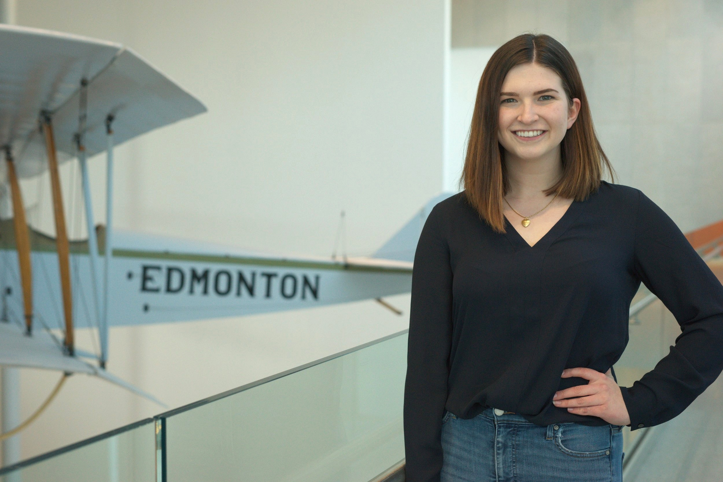 Emma Martin  Vice-President Delegate Relations  Hi everyone! I'm Emma and I'm in my final year of my Marketing degree at the Alberta School of Business. I was lucky enough to be part of AIBC 2018 as the logistics director and am thrilled to be back to fill the position of VP Delegate Relations this year. I am so excited to meet all of you and spend a week together in the beautiful town of Jasper. A fun fact about me is that I can warm up my hands with the power of my mind (a useful trick when you live in Edmonton, Alberta).