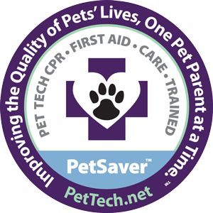 Our entire team is Pet CPR and First Aid trained! - You can be sure your pet is in the best care possible when they stay with us! If an emergency were to arise, our staff members are trained and skilled in performing CPR, Rescue Breathing, First Aid and the Snout-to-Tail Assessment by PetTech.