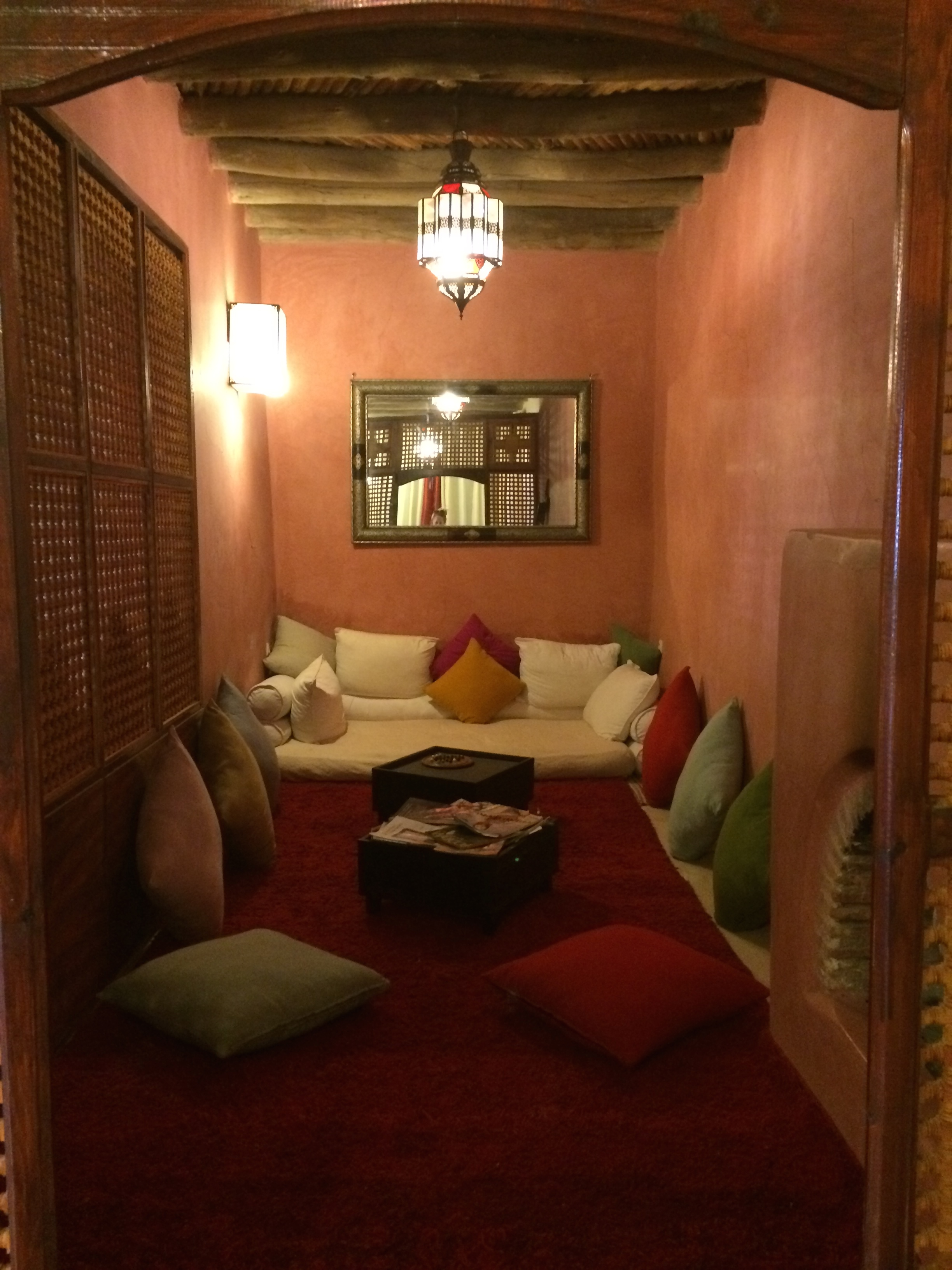 Beautiful accommodation in Moroccan yoga reterat