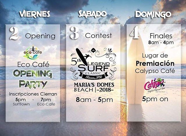 @lscpuertorico Repost!  Come check out the 5th Annual Legends Surf Classic #rincon #pr #puertorico #surfing #beach