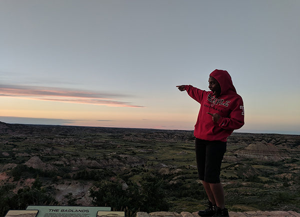 How Junior Pamela Jackson Found a New Perspective   Pamela came to the College of Liberal Arts as a transfer student. She's made the most of her time here, connecting the lessons from her major and minor and interning in a field research role for the National Science Foundation.