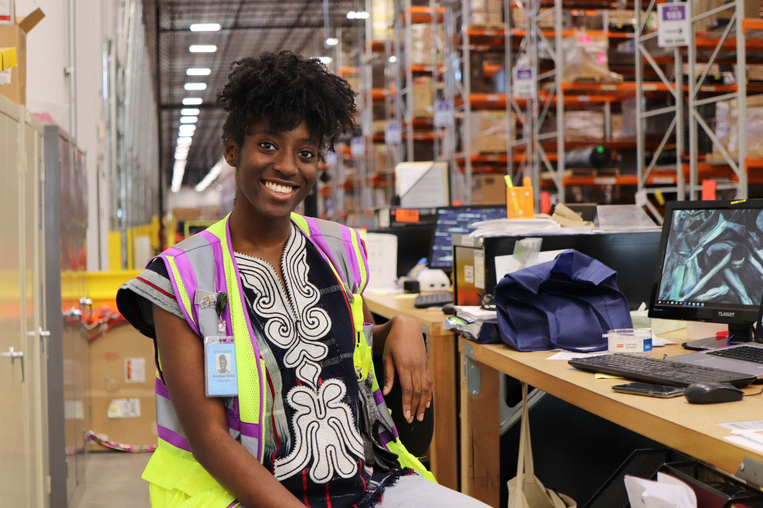 Psychology Grad Thrives Outside Her Comfort Zone   Amma-Sika Adomako, CLA '18, explains how learning in Philadelphia, studying in France and interning at Amazon has shaped her future.