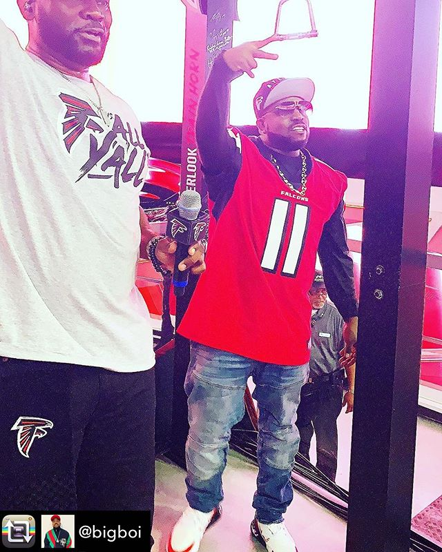 Repost from @bigboi - #ATLHOE  @atlantafalcons  # # # #  And yes, ATL sells the popular garden tool widely known as the hoe.