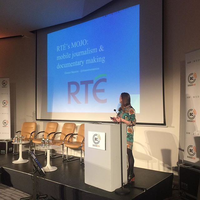 RTE speaking at #bloggerconf November 2016 @themarkerhotel @rtelifestyle @explorerte