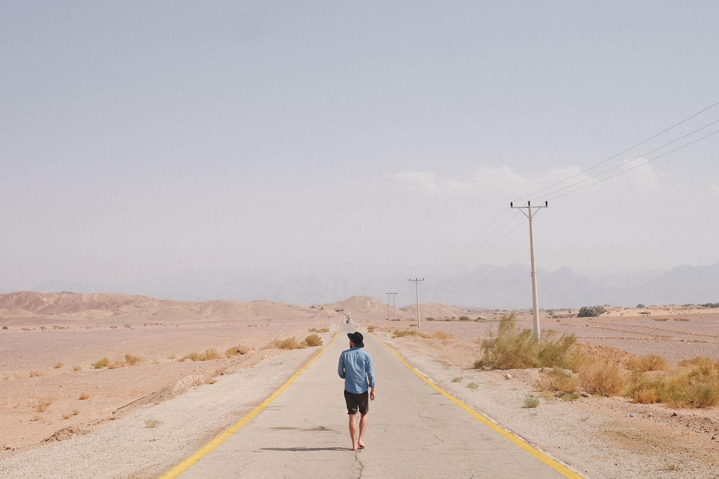 "Beautiful roads (try ""Madaba Road"")that lead up to Wadi Rum, Jordan. Stop to take photos!"
