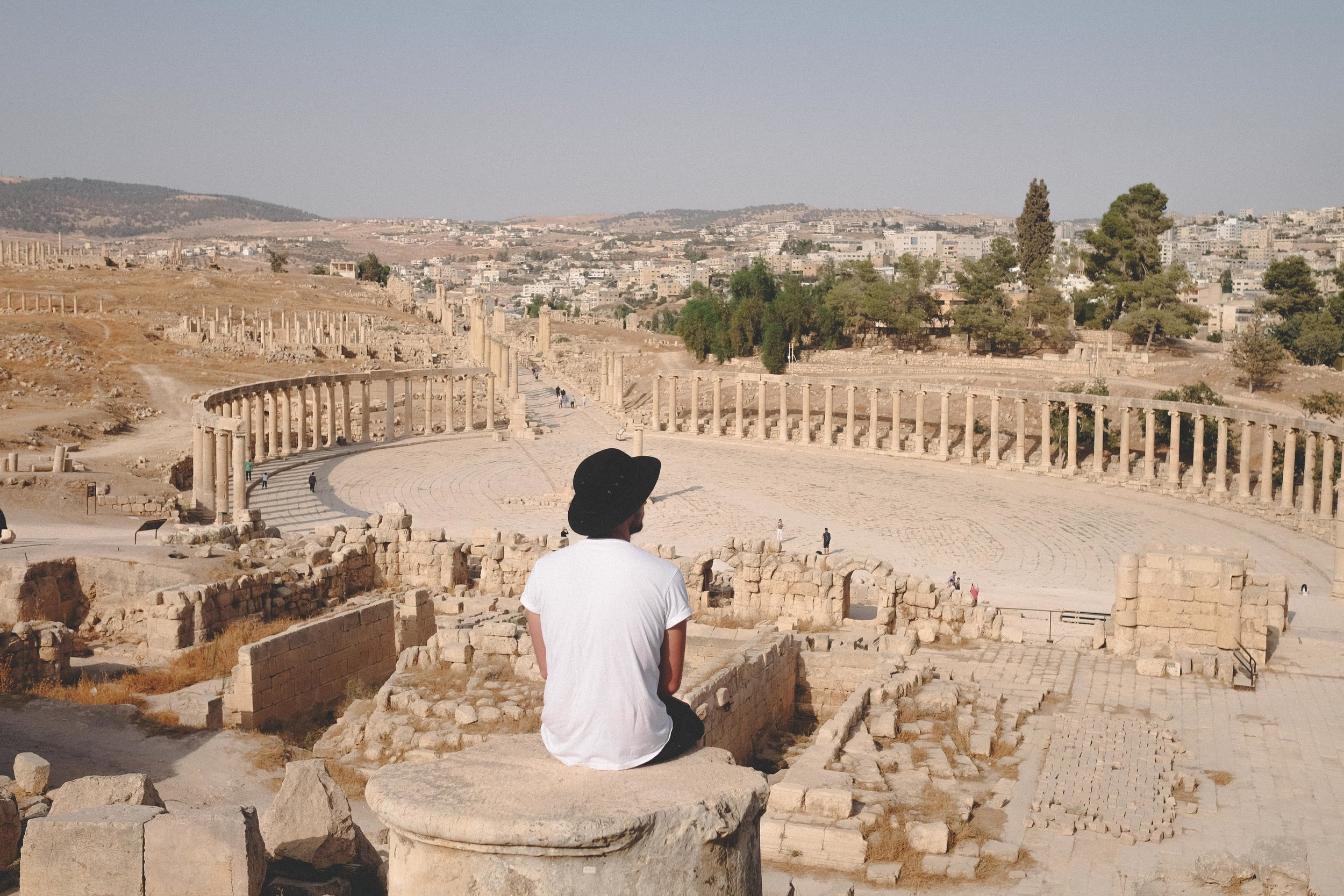 Sitting-in-Jaresh-Jordan-view-colosseum-wow