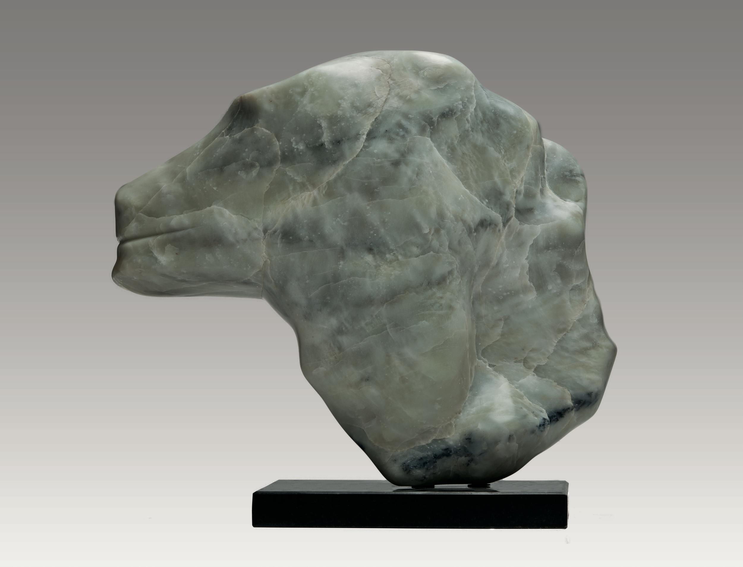 Lion Head (Verso)