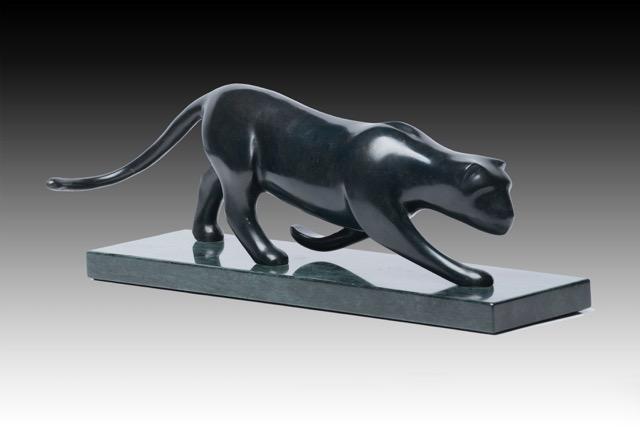 Panther Stalking