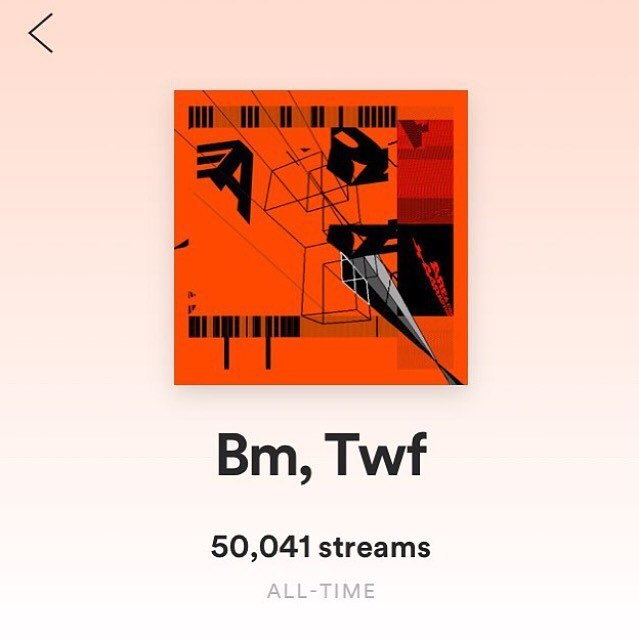 Congratulations to SouthSpace's own, @44rapture for this @spotify milestone. We've got a brand new +44 single dropping on the 1st. This is only the start...