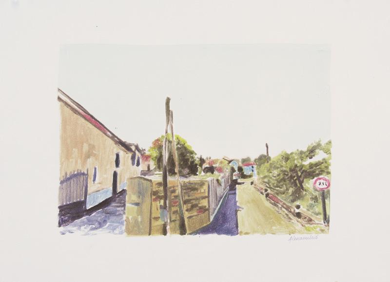Route de Pain Perdu, Valdivienne, Poitou-Charentes