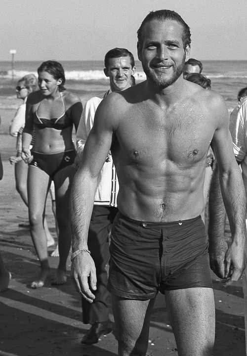 A cut and stoic Paul Newman in Venice '63. Thanks to mattsko.files.wordpress.com for the image.