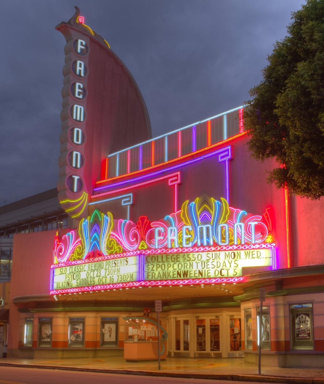 The Fremont Theatre. Sandy/Chuck Harris