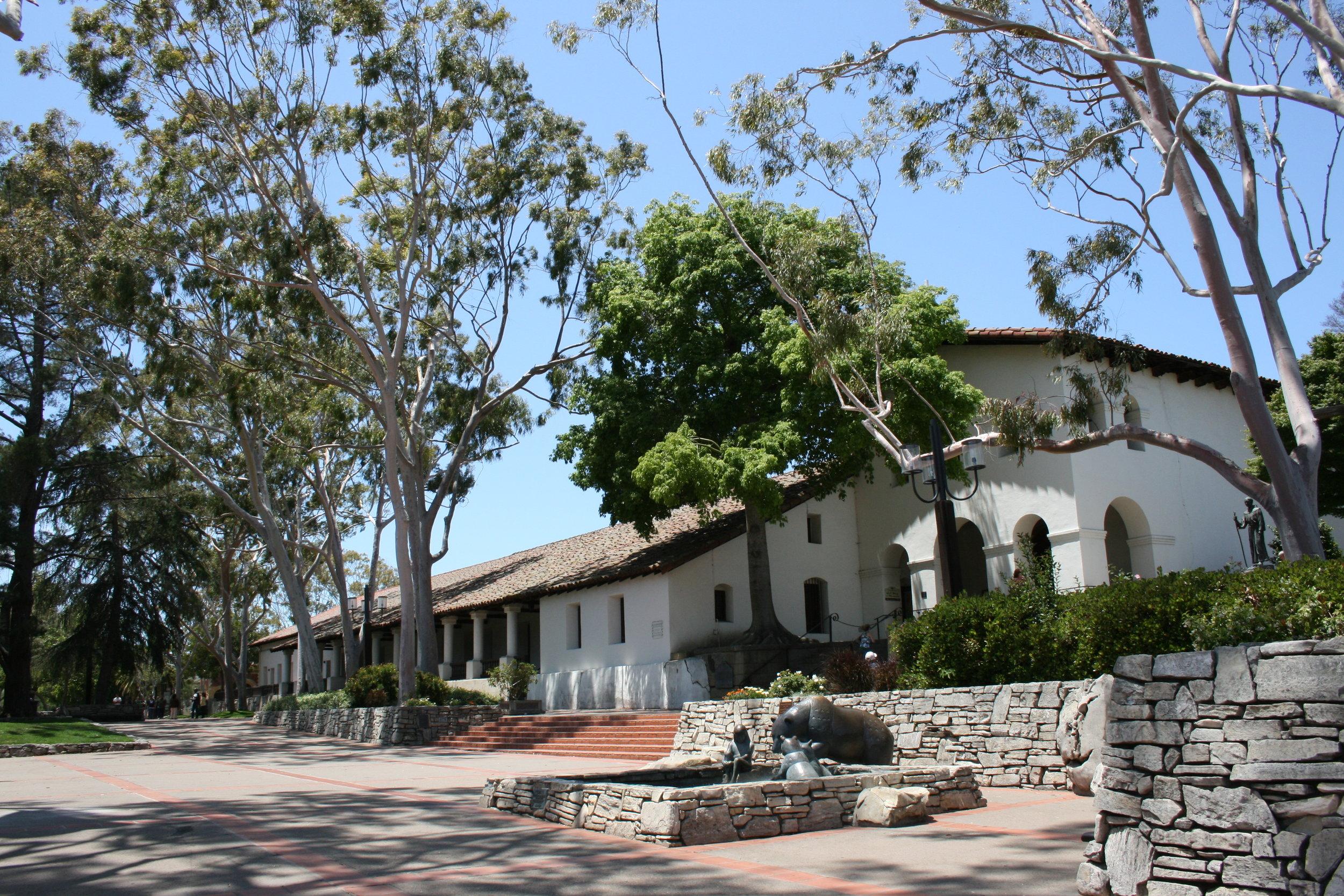 The San Luis Obispo Mission. Jill Clardy