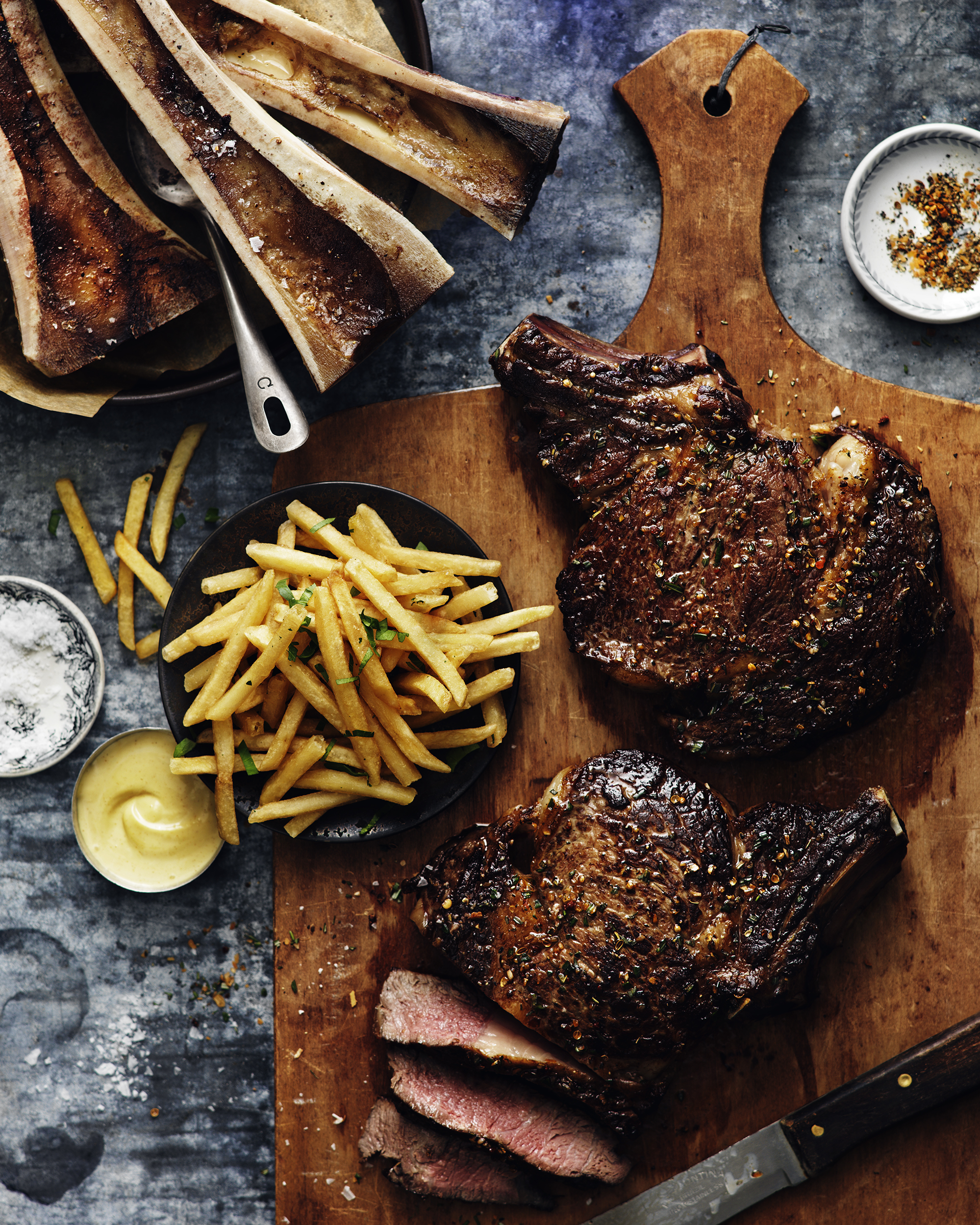 grilled steak and fries food photographer toronto jim norton