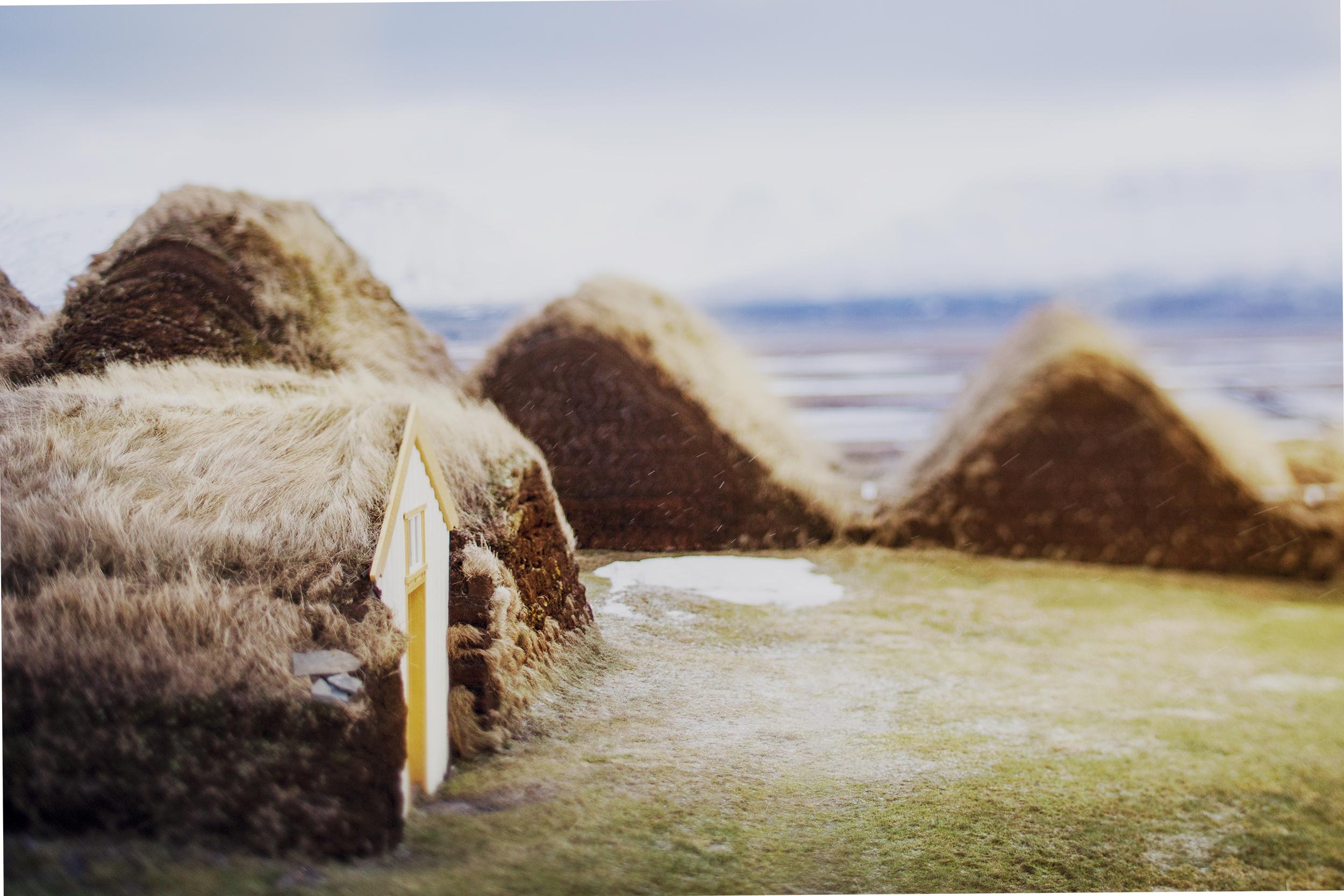grass huts icelandic jim norton travel photos