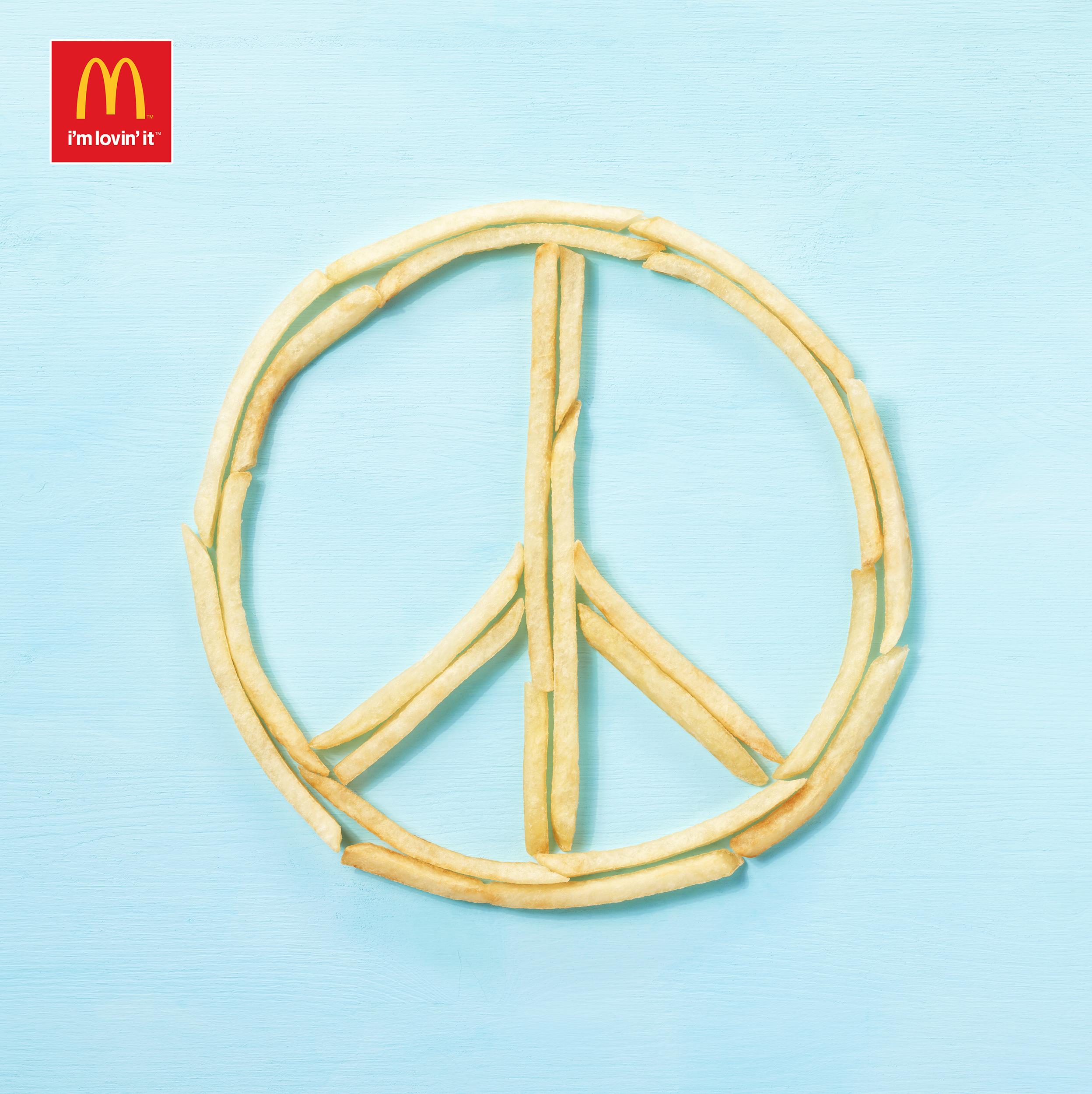 mcdonalds fuze reps food advertising