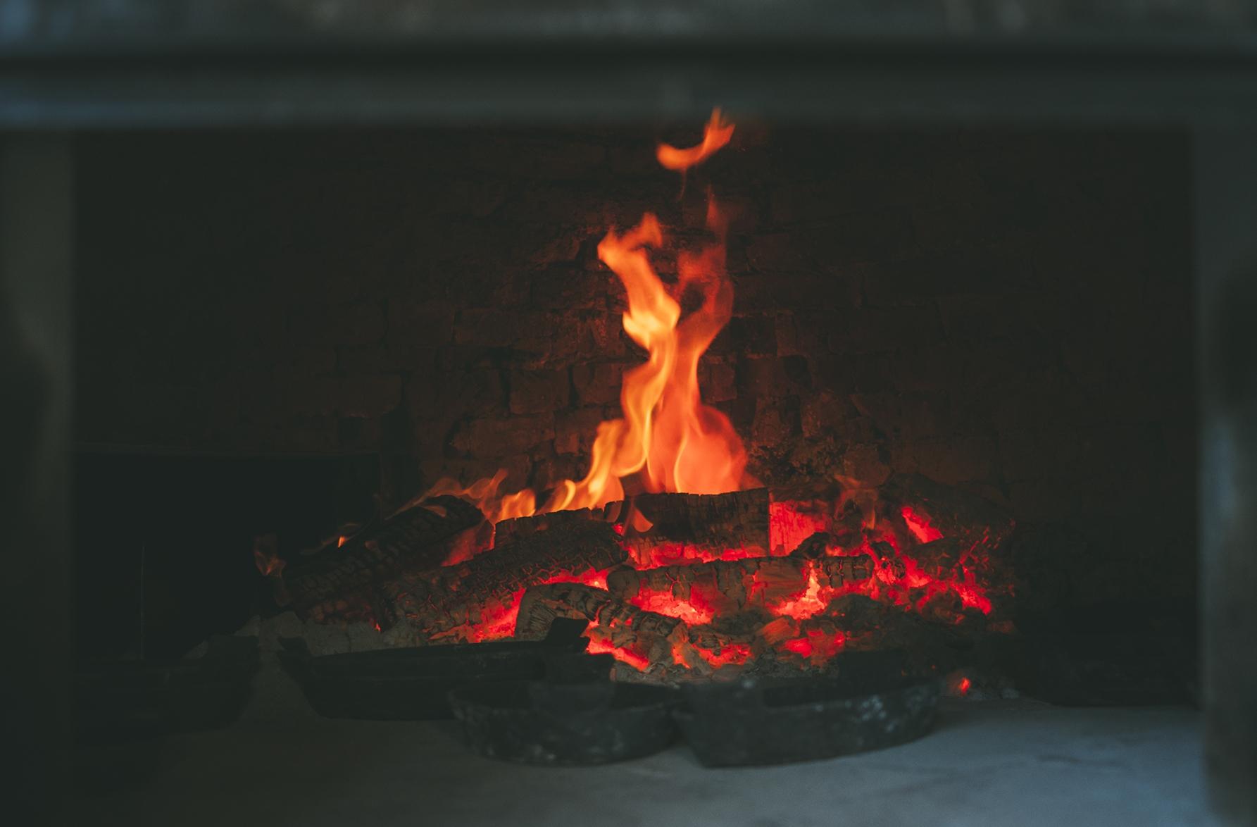 Wood Oven asado argentina