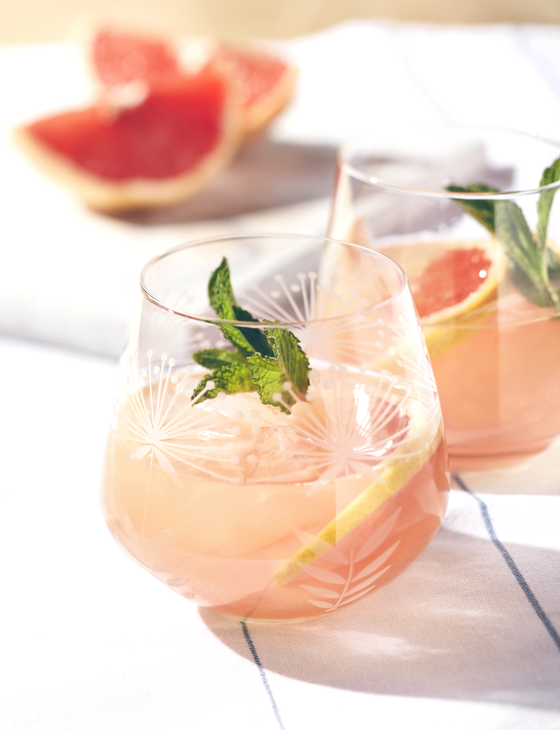 grapefruit cocktail editorial food photographer