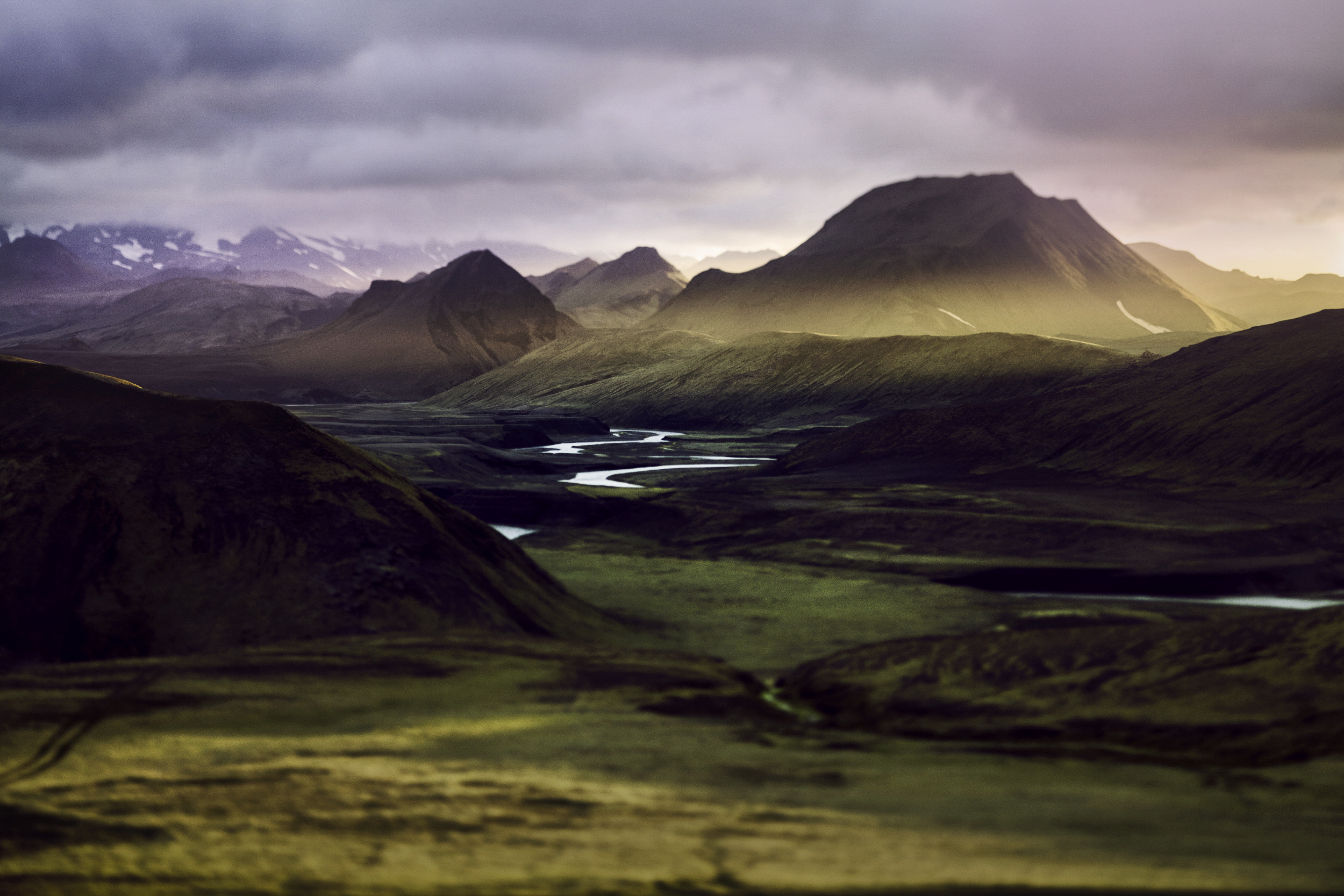 Icelandic Mountains