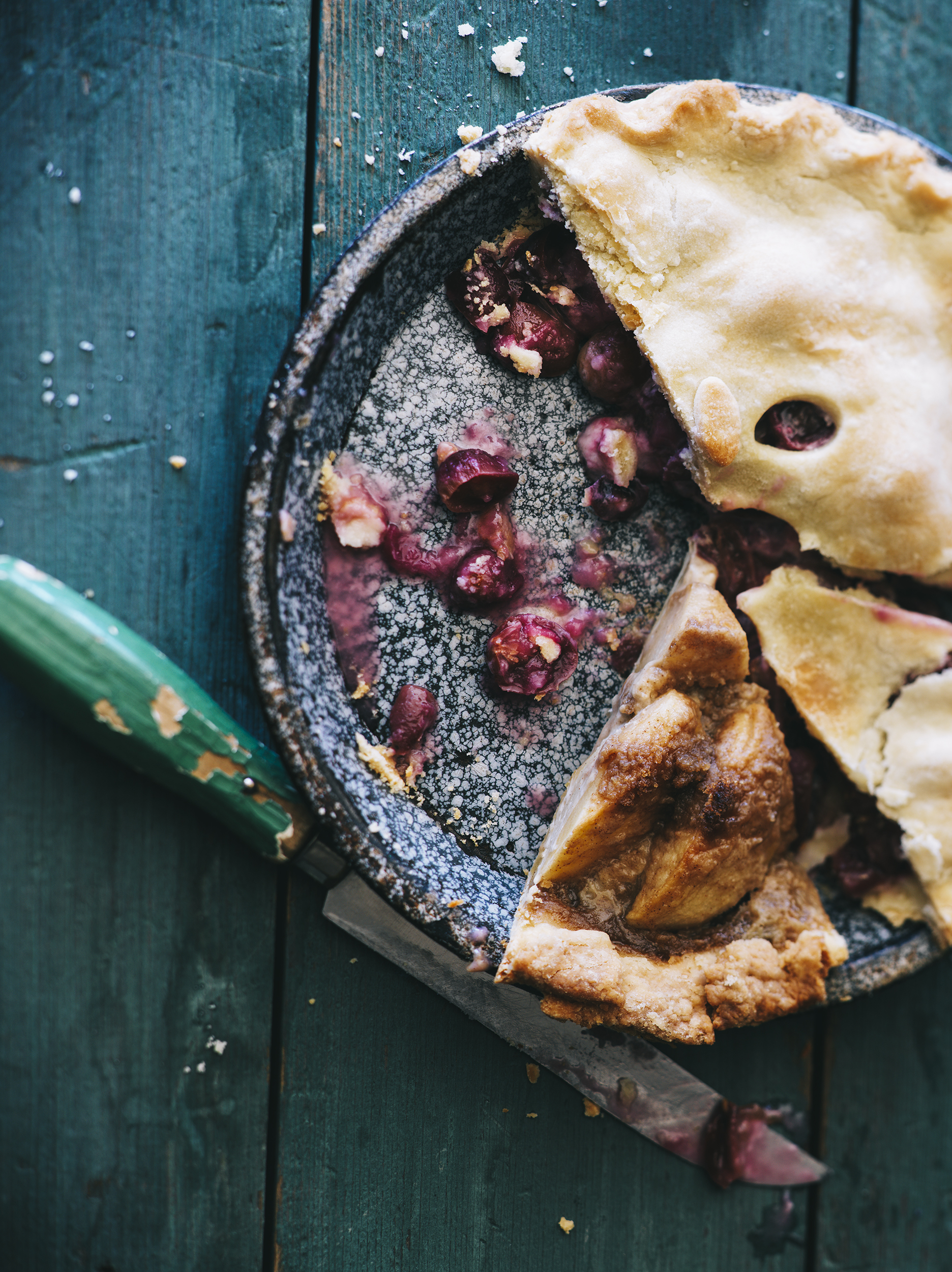 blueberry pie food photography fuze reps