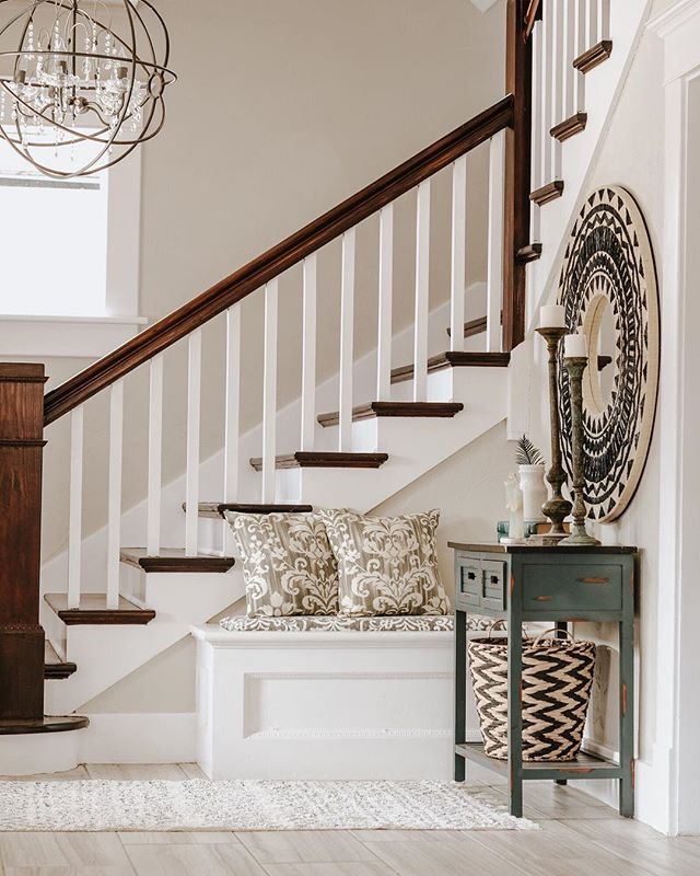 Beautiful staircase in this historic Mesta Park renovation.  styling by @eclectic_avenue_styling.  #mestapark #remodel #renovation #lifestyle #photography #interior #design #interiordesign #architechture #oklahoma #city #realestate #realestatephotography #okc #photographer #inlove #potd #luxury #style #homestaging #okcrealestate #home #historic #house #staircase