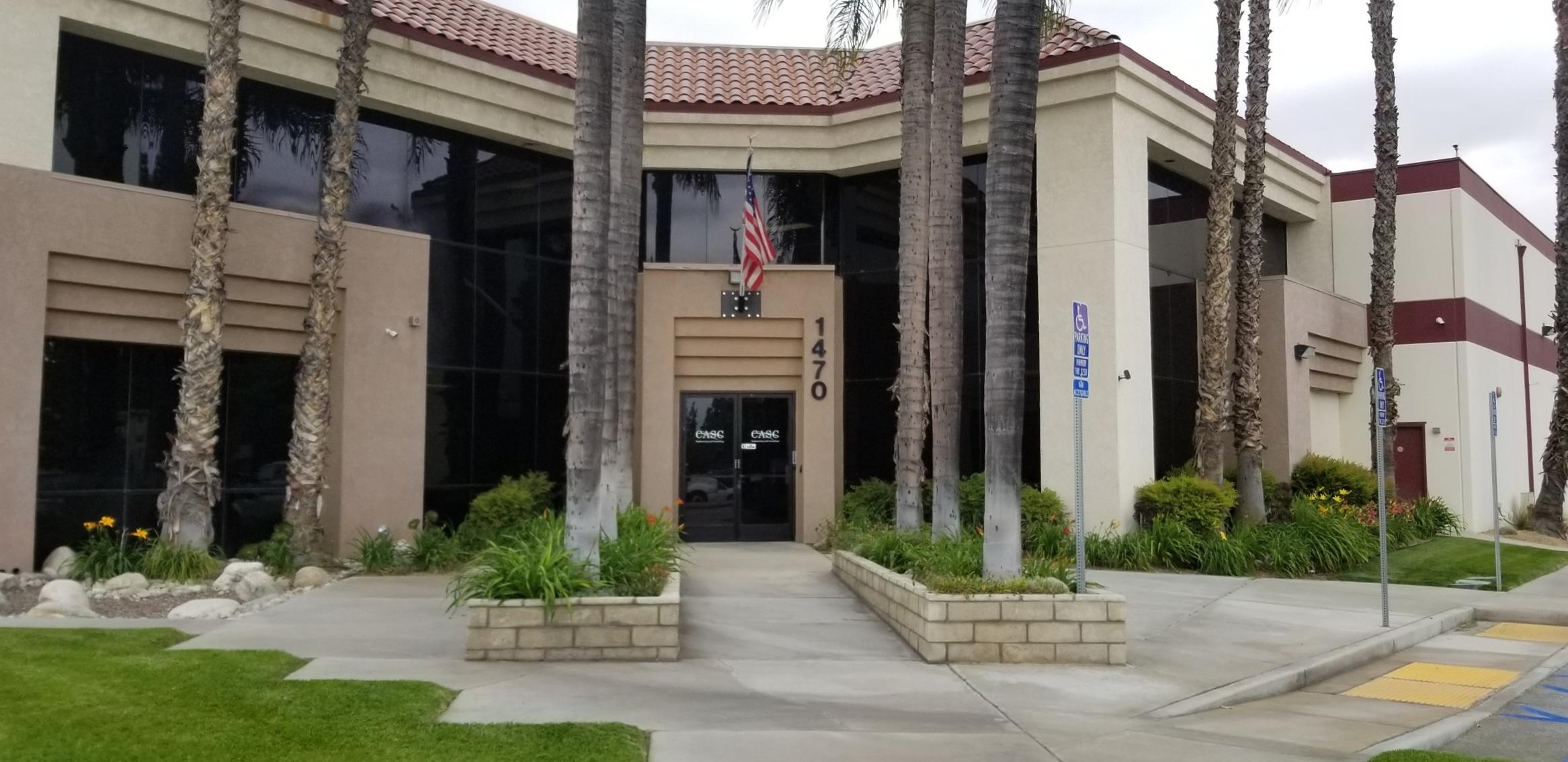 Picture of Corporate Office in Colton California.