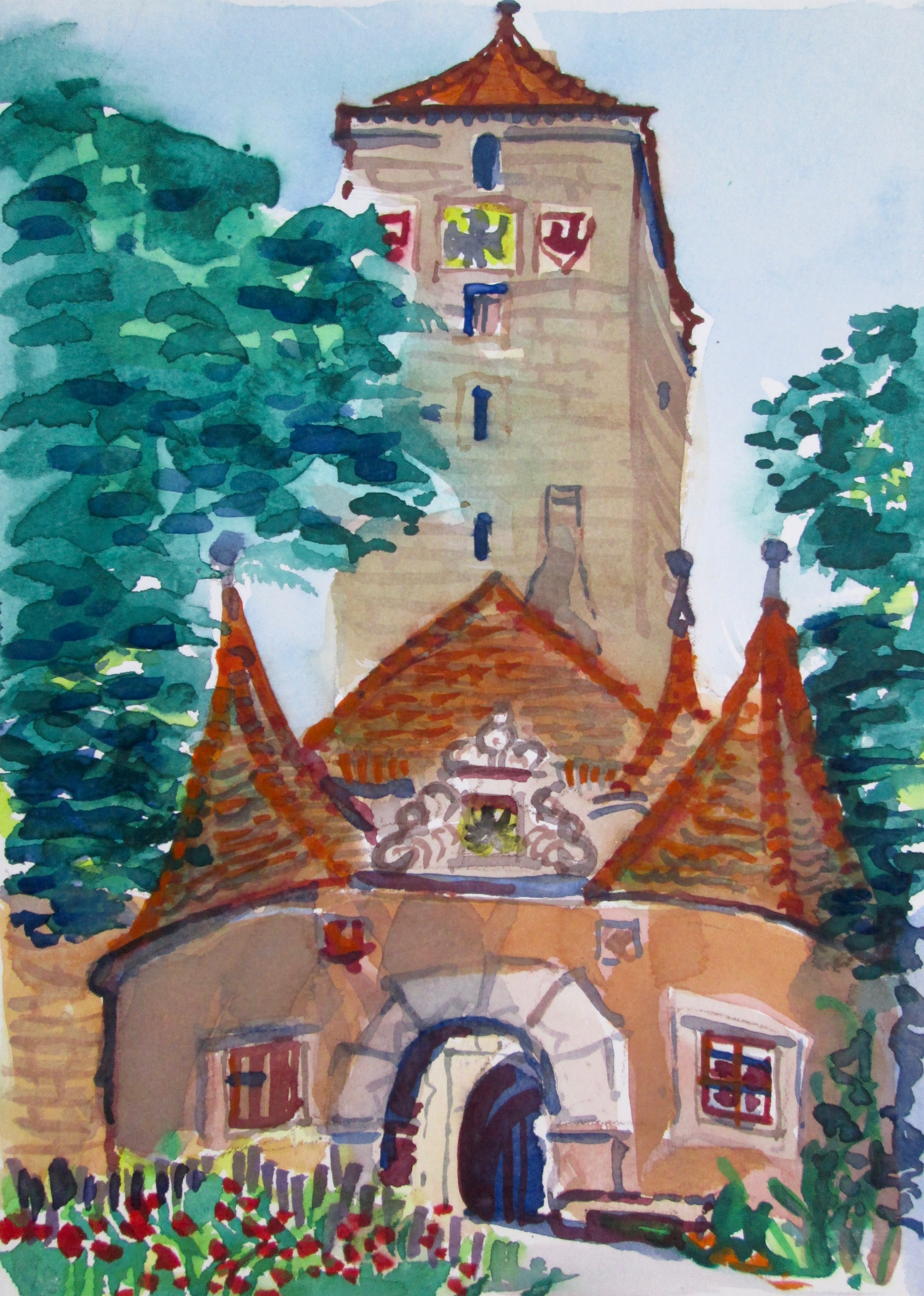Burgtor Rothenburg