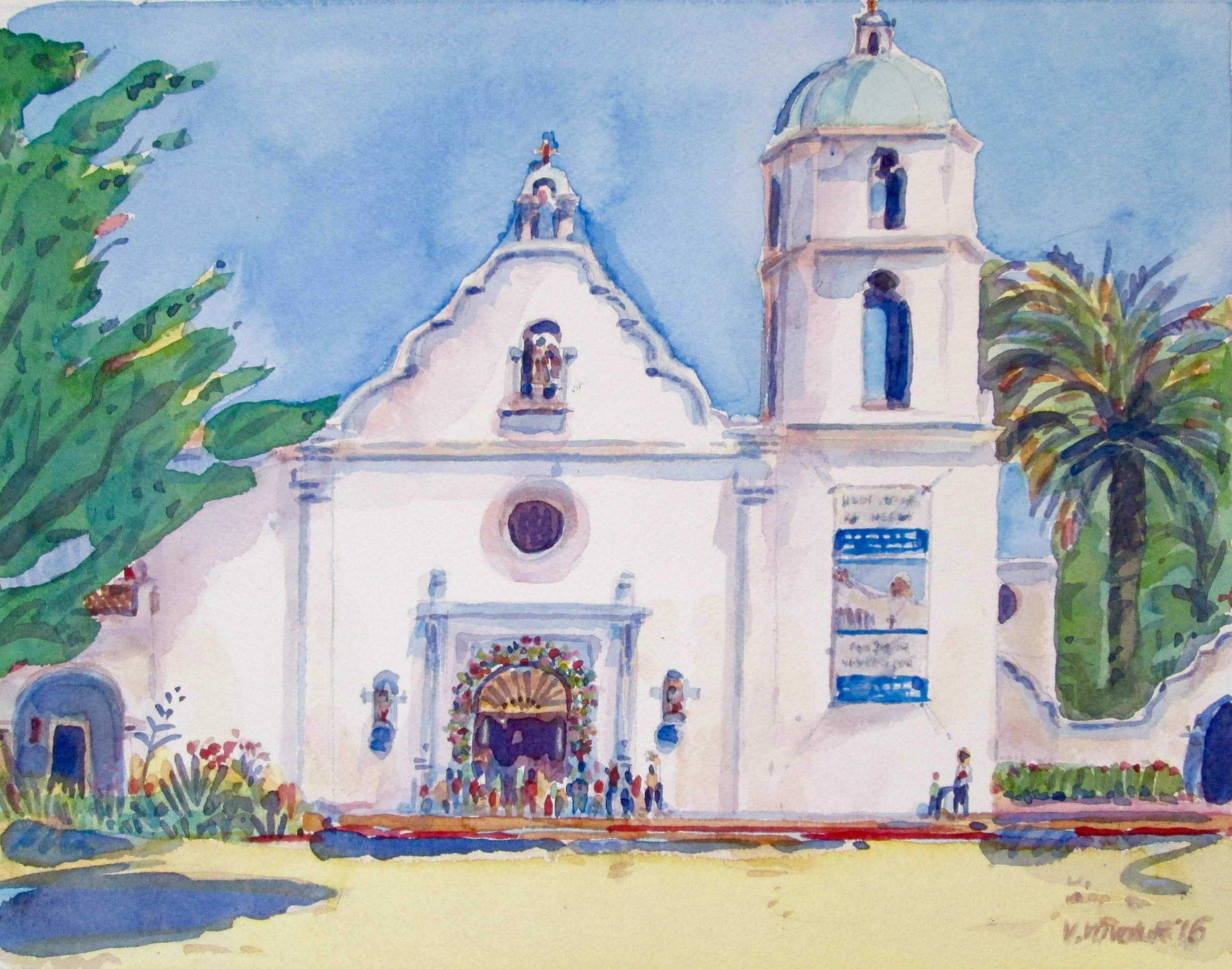 Mission San Luis Rey (Oceanside, CA)