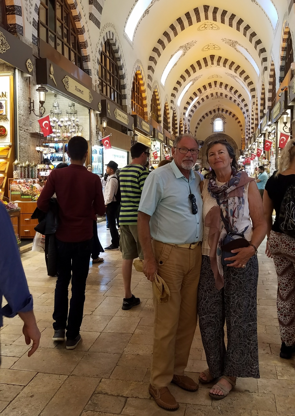 At the Grand Bazaar, established 1455
