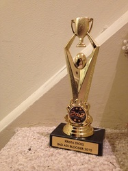 Bad Ass Blogger Trophy 2012