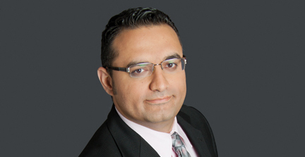 2017 Winter Convocation Special Guest Speaker Saeed El-Darahali, President and CEO of SimplyCast.