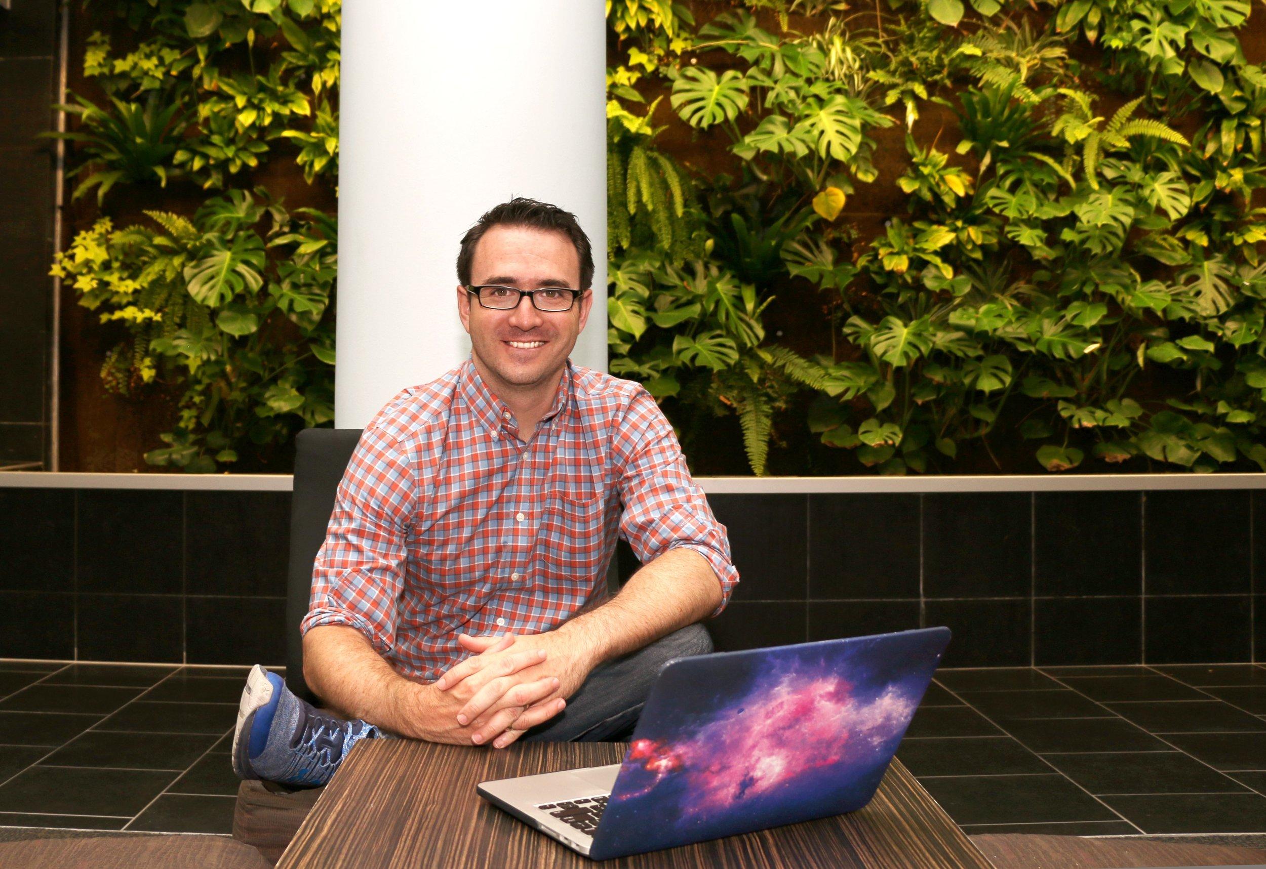 John Read, a Saint Mary's Astrophysics student and author.